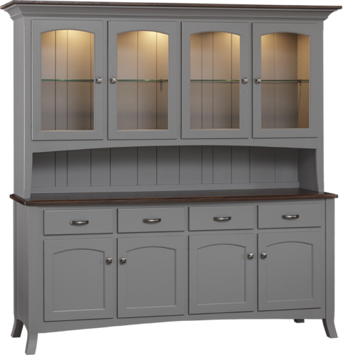 Concord 4-Door Hutch & All Hutches - Lancaster Legacy - Truewood Furniture